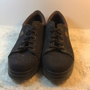 Timberland size 13 ok shape see pic with spots